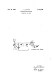 Benner patent No. 2412244 for the superheterodyne circuit used in the M-1670 Silvertone Radio