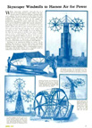 Windmills on skyscrapersFrom Popular mechanics June 1932