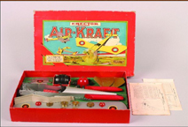 A.C. Gilbert Company Air- Kraft Set Float Plane Box