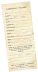 A.C. Gilbert Company Atomic Energy Set Packing Slip