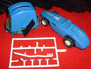 A.C. Gilbert Company Slot Car Set -- car and controller