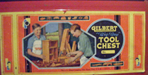 A.C. Gilbert Company Big Boy Tool Set Inner Box Graphic