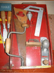 A.C. Gilbert Company Big Boy Tool Set Dads Size