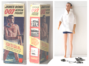 A.C. Gilbert Company James Bond Action Figure