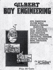 The Gilbert Boy Engineering Pamphlet