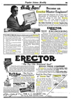A.C. Gilbert Company Erector Brik Set -- Brik-tor ad Popular Science vol 89 1916
