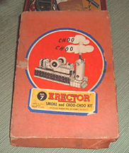 A.C. Gilbert Company Smoke and Sound Add-on for Erector Sets