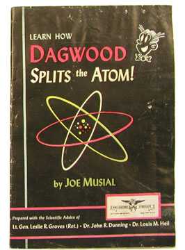 Dagwood Splits the Atom cover