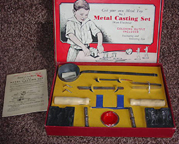 A.C. Gilbert Company Metal Casting Set Number One (contents)
