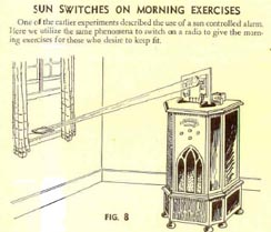 Gilbert Electric Eye set: controlling the Radio