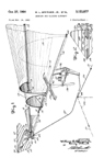 Effinger Flexible Wing Model Patent No.3,153,877
