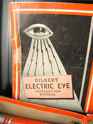 Gilbert 1930s Electric Eye set Manual