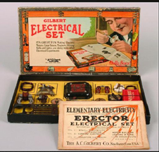 A.C. Gilbert Company Elementary Electricity Set