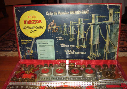 Erector 12 1/2 set Xmas Day