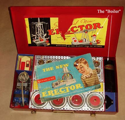 Erector 7 1/2 set Xmas Day