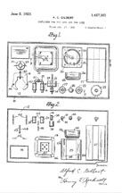 Erector Container Patent 1457361 page 1