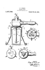 Oscar Erhardt Portable Liquid Mixer assigned to A.C. Gilbert 1923 Patent No. 1,407,789