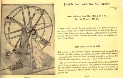 The Erector Set Ferris Wheel