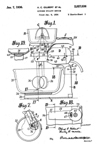 A.C. Gilbert Company Kitchen Stand Mixer Patent No. 2,027,036