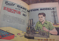 A.C. Gilbert Company Erector Adventures in Science Comic Book