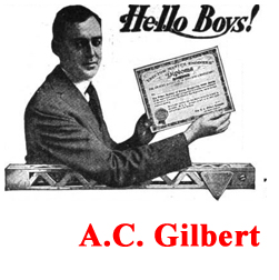 Button to send you to discussion of A. C. Gilbert
