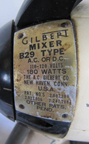 A.C. Gilbert Company Kitchen Stand Mixer Nameplate