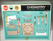 Chemistry of Plating and Paints Set A.C. Gilbert Company