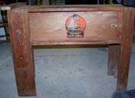 A.C. Gilbert Company Big Boy Tool Set in the form of a workbench