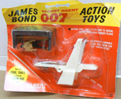 A.C. Gilbert Company James Bond Accessories Goldfingers Laser table