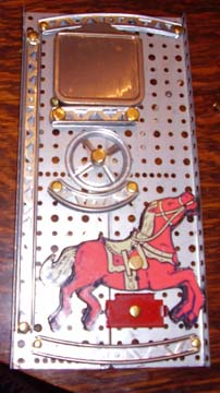 Erector Set Horses on the 10.5 set
