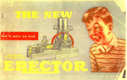 Front Cover of the Erector Set How to make Em book
