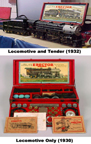 Gilbert Hudson Locomotive Set