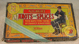 A.C. Gilbert Company Knots and Splices Set