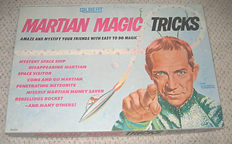 A.C. Gilbert Company Martian Magic Set Cover