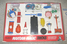 A.C. Gilbert Company Martian Magic Set Interior