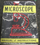 A.C. Gilbert Company No 10 Microscope manual