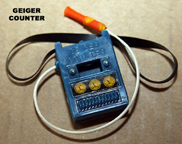 A.C. Gilbert Company Moon McDare Geiger Counter