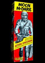 A.C. Gilbert Company Moon McDare Action Figure