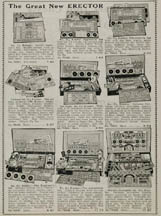 1937 Erector Set advertisement