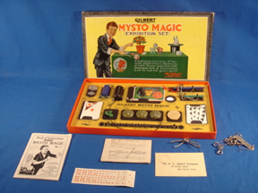 A.C. Gilbert Company Mysto magic Set