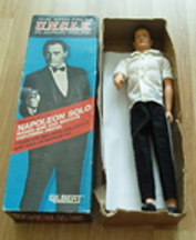 A.C. Gilbert Company Man from U.N.C.L.E Napoleon Solo Action Figure