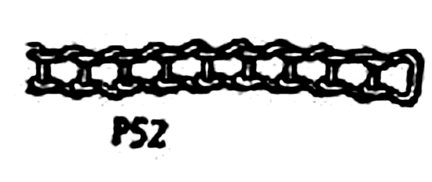 Erector Set Ladder Chain, Part P-52