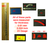 Measurement of Metal Parts