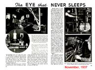 November 1937 Popular Mechanics article on Photoelectrics