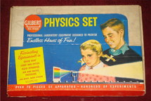 A.C. Gilbert Company Physics Set