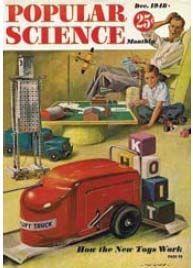 Cover of December 1948 Popular Science