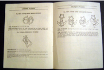 A.C. Gilbert Company Puzzle Manual