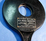 A.C. Gilbert Company World War II Naval Range Finder - back