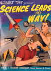 Gilbert Advertising Comic book Science leads the way