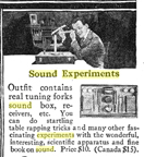 A.C. Gilbert Company Sound Experiments Set